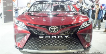 2018 Toyota Camry NASCAR Looks Ready to Eat You Up