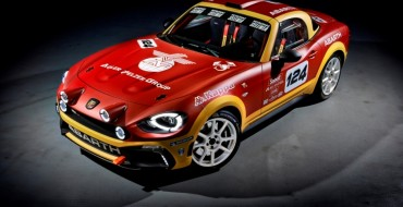 Abarth 124 Rally to Make Appearance at Autosport International 2017