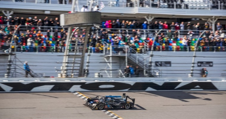 Cadillac DPi-V.R Racecar Wins the 24 Hours of Daytona in First Attempt