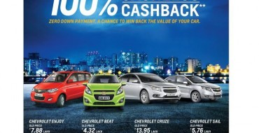 Chevrolet India Extends 2017 Retail Offers