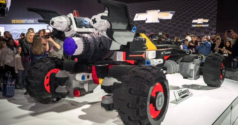 Watch a Time-Lapse Video of the Chevy LEGO Batmobile's Build
