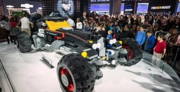 Chevy Unveils Life-Sized LEGO Batmobile in Detroit