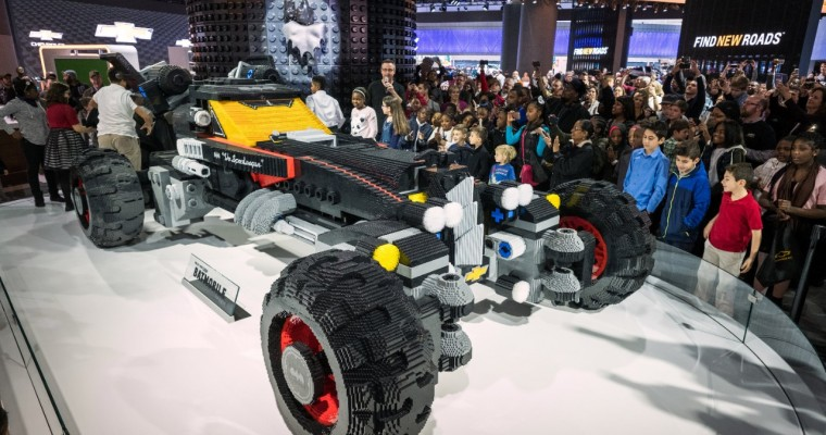 Chevy Unveils Life-Sized LEGO Batmobile in Detroit