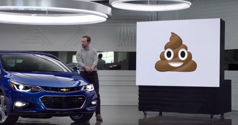"Enjoy This Chevy ""Real People"" Emoji Ad Parody"