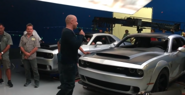 Did Vin Diesel's 'The Fate of the Furious' Speech Video Just Leak the Dodge Demon?