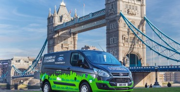 Ford Announces 12-Month London Trial for Transit Custom PHEV