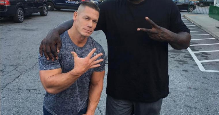 UPDATE: John Cena Prepares to Kill on Carpool Karaoke