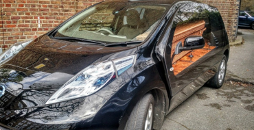 The Nissan Leaf Hearse Has Broken Our Brains