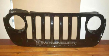 Is This Really the Grille of the Next-Generation Jeep Wrangler? [Photos]