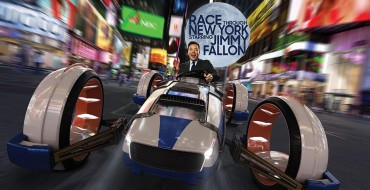 Jimmy Fallon Races Through New York in Bizarre New Universal Studios Ride