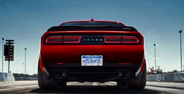 The Dodge Demon Will Be Fitted with 315-Width Drag Radial Tires