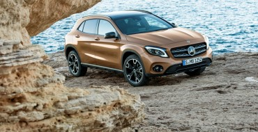 Mercedes Stuns the Crowd in Detroit with its Redesigned GLA SUV