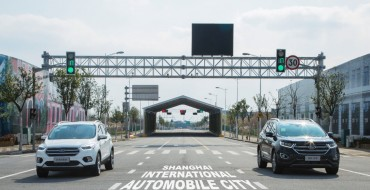 Ford Testing Two Innovative Intersection-Friendly Technologies in Shanghai