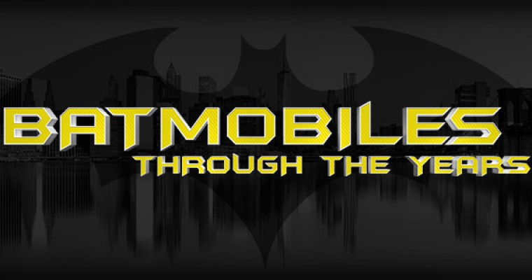 Infographic: Batmobiles Through the Years
