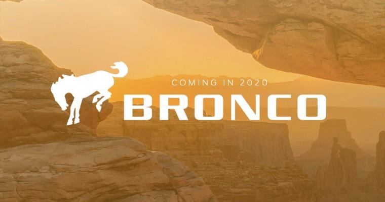 Rumor: Bronco to Debut in November at LA Auto Show