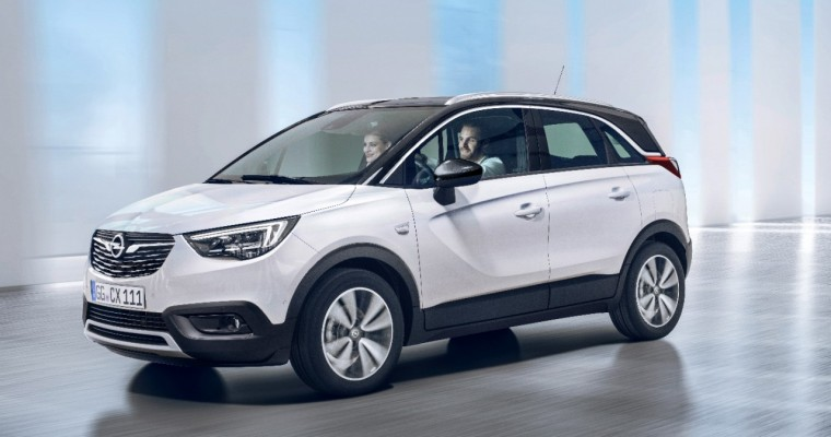 Opel X-pertly X-hibits X-citing Crossland X Crossover (X-Over)