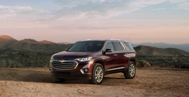 [Photos] 2018 Chevrolet Traverse Looks Fancy, Gets High Country and RS Trims
