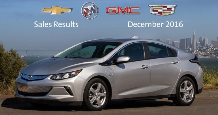 General Motors Canada Racks Up 267,341 Sales in 2016