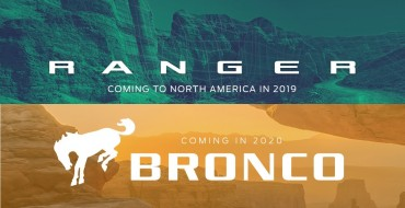 Surprise! Ford Confirms Ranger for 2019, Bronco for 2020