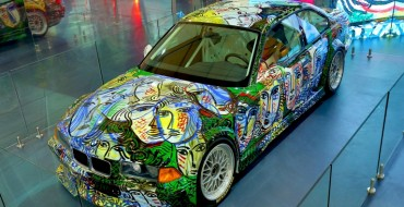 The 13th BMW Art Car on Display at the India Art Fair