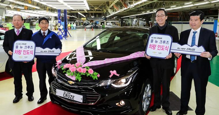 Production of Chevy Cruze Kicks Off at Gunsan