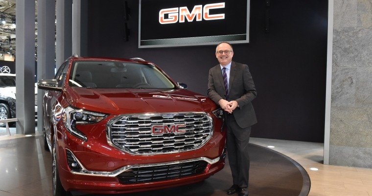 2018 GMC Terrain Makes Grand Appearance at 2017 Canadian International Auto Show