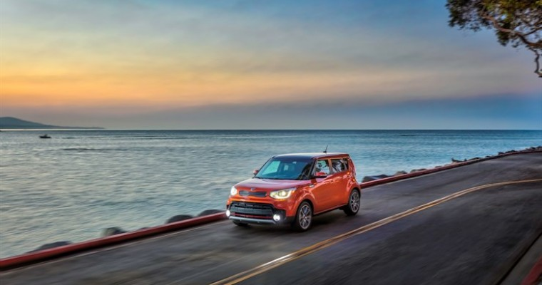 "2017 Kia Soul Wins ""Best Family Cars of 2017"" Award"