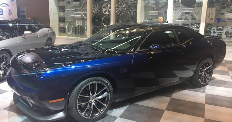 Mopar Debuts the Mopar '17 Dodge Challenger at the Chicago Auto Show [Photos]
