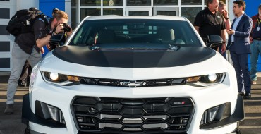 Track-Ready 2018 Camaro ZL1 1LE Debuts at Daytona Speedway