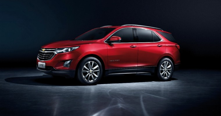 Equinox Becomes First 9-Speed Chevy in China