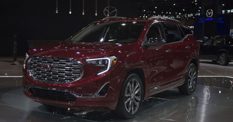 2018 GMC Terrain Starts at $25,970 MSRP; Terrain Denali Starts at $38,495 MSRP