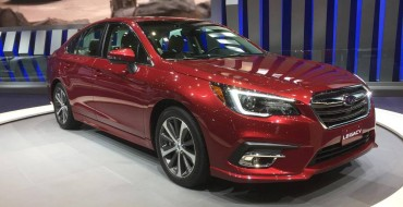 2018 Subaru Legacy Electrifies the Crowd at the Chicago Auto Show [Photos]
