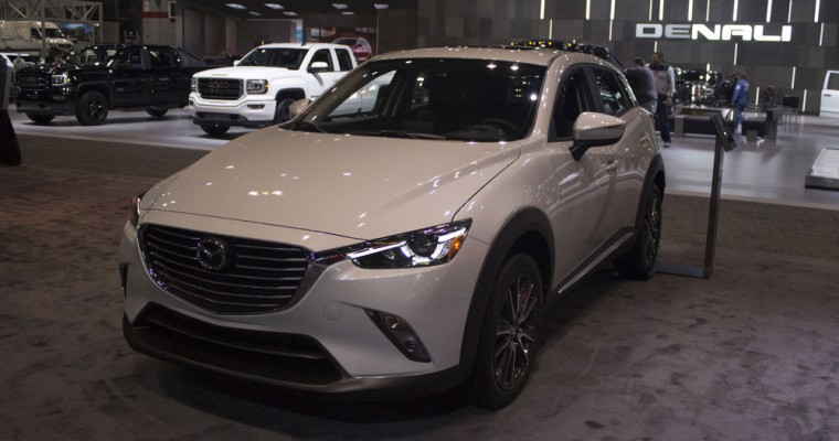 """Chicago News Names 2017 Mazda CX-3 """"Best Crossover of the Year"""""""