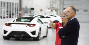 "Acura Announces ""NSX Insider Experience"" Factory Tour for Customers"