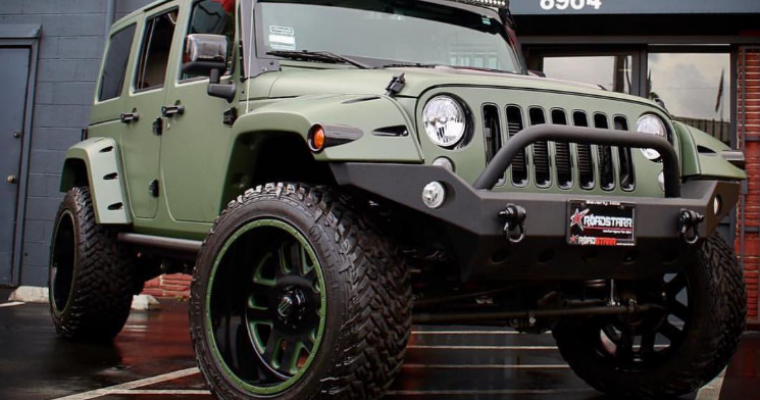 RIP Amber Rose's Pink Jeep Wrangler Unlimited