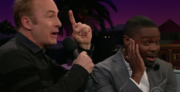 "Bob Odenkirk Does ""Carpool Karaoke"" Sans Car, Talent"
