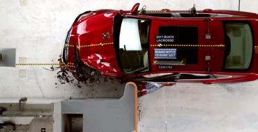 2017 Buick LaCrosse Earns IIHS Top Safety Pick Status