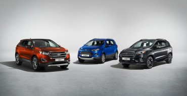 Ford of Europe Gets Big May Boost from Strong SUV Sales