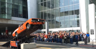 What Goes Up: General Lee Replica Crashes After Leaping Into the Air