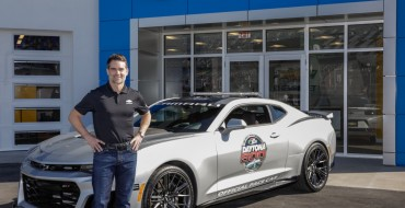 Jeff Gordon to Pace Daytona 500 in Camaro ZL1