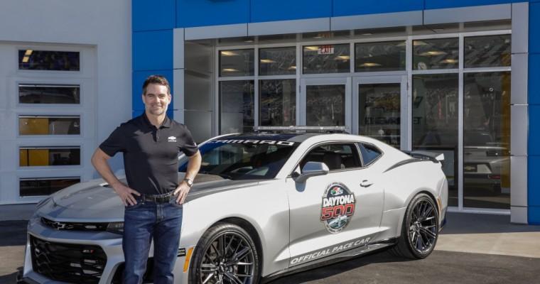 Jeff Gordon to Pace Brickyard 400 in 2017 Camaro ZL1