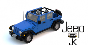 Jeep Wrangler JK LEGO Model Submitted to the LEGO Ideas Project