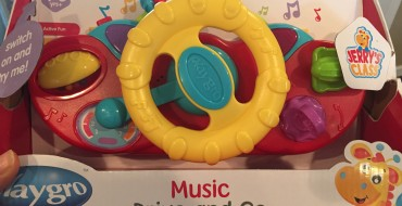 Baby Toy Review: Playgro Music Drive and Go