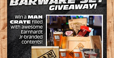 Hey Race Fans! Enter Our Earnhardt Jr. Giveaway to Win a Crate of NASCAR Barware Goods