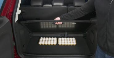 2018 Ford EcoSport Uses Honeycomb Design for Super Strong Cargo Shelf