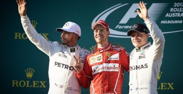 Sebastian Vettel Leads Ferrari to Season-Opening Win