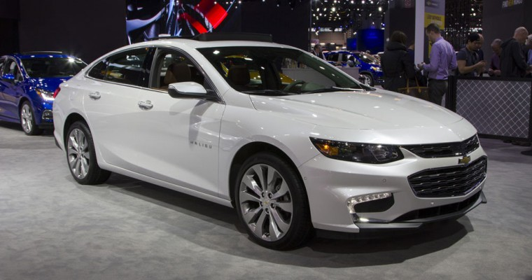 Chevy Malibu Named 2017 Best Midsize Car for Families by US News & World Report