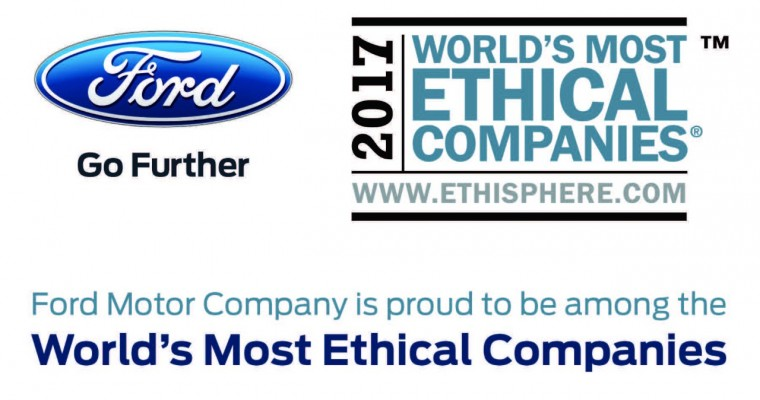 Ford Makes Ethisphere's World's Most Ethical Companies List for Eighth Straight Year