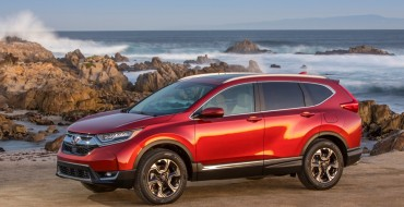 2017 Honda CR-V Awarded With Top Safety Pick+ Rating from IIHS