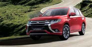 2017 Mitsubishi Outlander PHEV Gets Cool Tech Upgrades